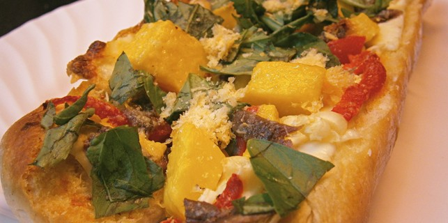 Mango and Kesong Puti Bruschetta: Antipasto with a Filipino Twist
