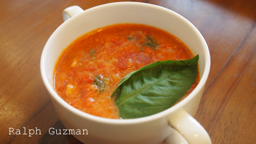 Creamy Tomato Soup - RatedRalph.com